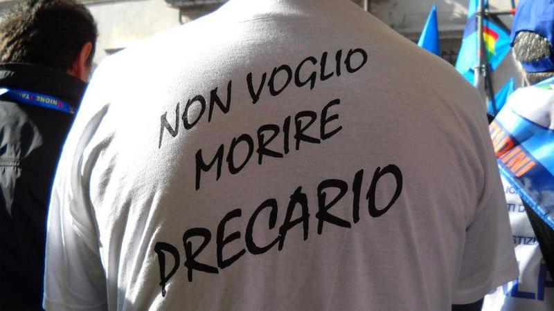 precariato in Italia, alla ricerca del lavoro dei sogni
