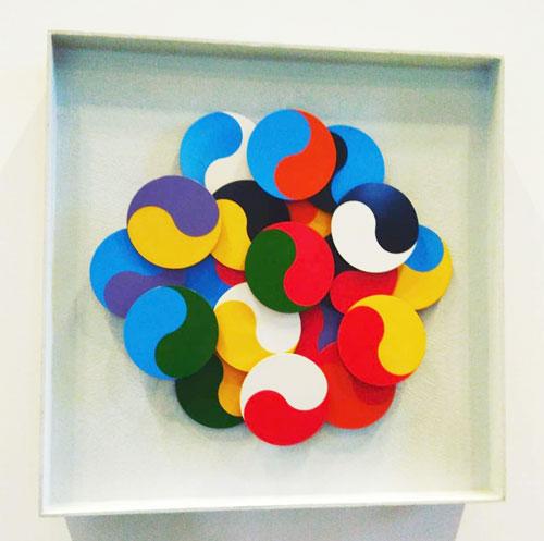 Alberto Biasi percezione visiva pvc Biennale di Venezia