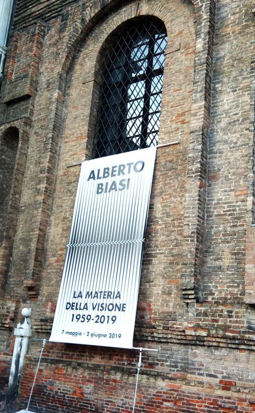 Alberto Biasi La materia della Visione 1959-2019