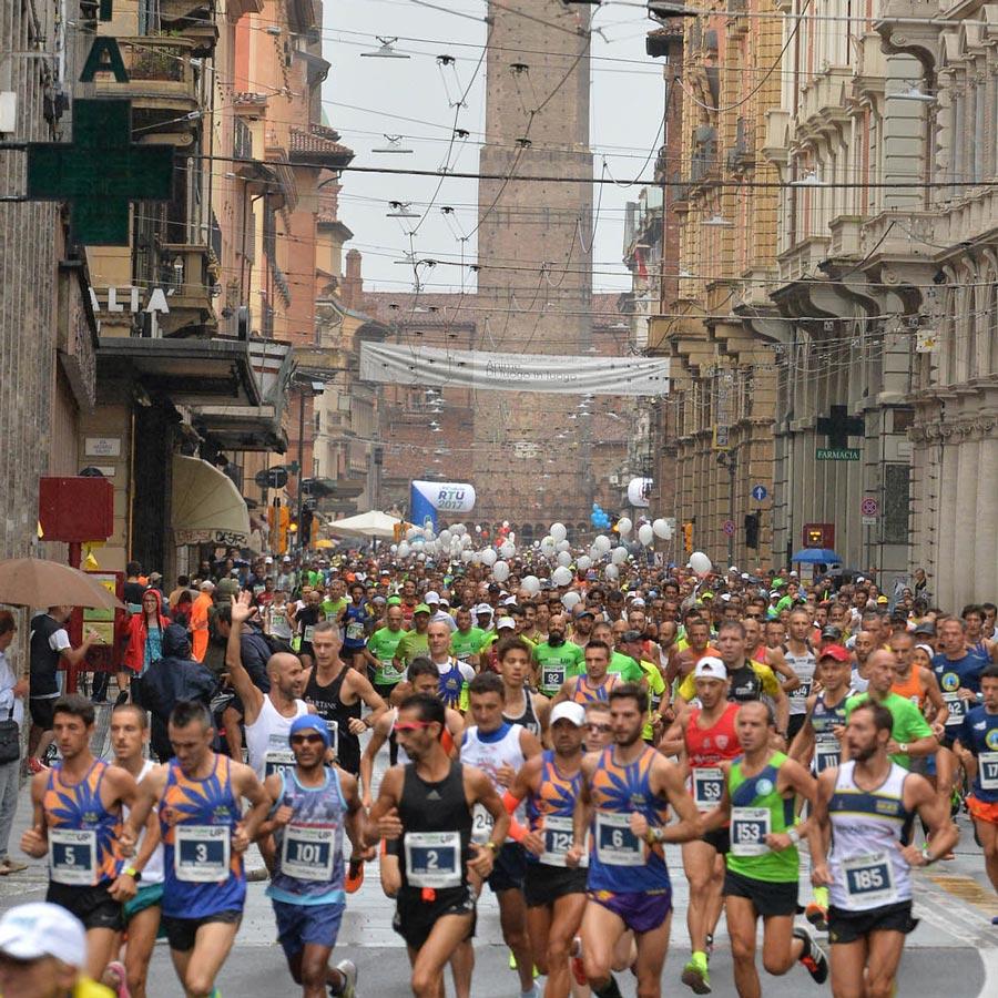 La mezza maratona di Bologna