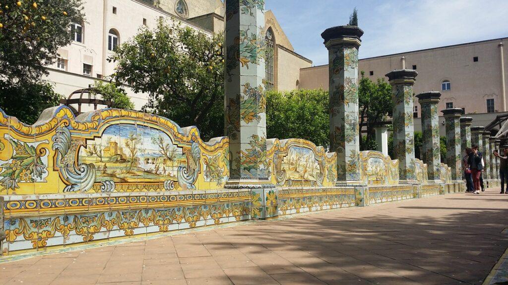 Monastero di santa Chiara Napoli Visitare Napoli tra storia moderna